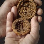 16th Century Miniature Boxwood  Carvings That Fit in the Palm of Your Hand