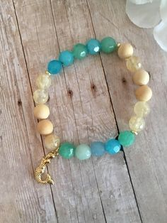 Kiss of the Sea; Mermaid Bracelet; Diffuser Jewelry; Aromatherapy; Mothers Day by HolyBombshell on Etsy https://www.etsy.com/listing/527234613/kiss-of-the-sea-mermaid-bracelet