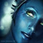 copyrights belong to the creator, any reproduction or manipulation is prohibited by the law photo/concept/makeup/ps touchups: me =ftourini model is Maria Rova here is aquarius eye from my zodiac se...