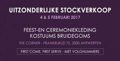 Uitzonderlijke Stockverkoop Le Chapeau The Corner -- Antwerpen -- 04/02-05/02