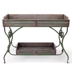 Foreside Home & Garden - Vintage Potting Table, KD