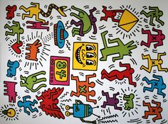Keith HARING : Untitled, 1984