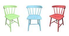 Scaun colorat Derby - scaune din lemn masiv de fag in stil colonial realizat de Mobirom Romania Bar Stools, Derby, Chair, Furniture, Home Decor, Bar Stool Sports, Decoration Home, Room Decor, Counter Height Chairs