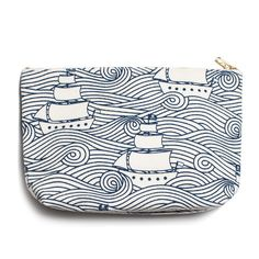 Gusset Pouch - High Seas Navy