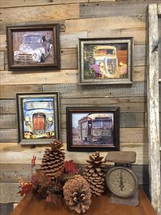 Rustic walldecor Homedecor pictures paintings Farm Trucks farm trucks canvas photo Rusty rust Rusty trucks vehicles wall pictures .. ... I printed some pictures of abandoned farm trucks to place on top of my painted pieces inspired buy these vehicles to help tell a story about my work. https://www.etsy.com/people/LunarInteriorDesigns