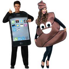 Déguisements Smartphone et Réseau Social #déguisementscouples #nouveauté2015