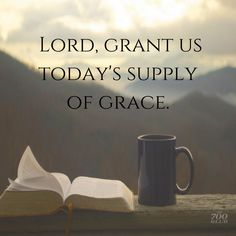 Grant us that we may accept the grace which God has bestowed on us through His Son Jesus Christ. Bible Scriptures, Bible Quotes, And So It Begins, Prayer Board, Quotes About God, Spiritual Inspiration, Heavenly Father, Spiritual Quotes, Trust God