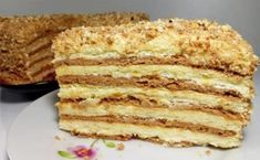 "Cake ""Smetannikov"" in haste. Pastry Recipes, Baking Recipes, Cake Recipes, Dessert Recipes, Russian Desserts, Russian Recipes, No Bake Desserts, Delicious Desserts, Fun Cooking"