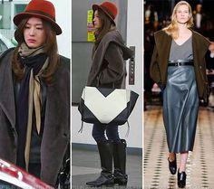 Gianna Jeon Ji Hyun (전지현)  Coat, hat, scarf, boot - Hermès Fall/Winter Bag - Rough & Lounge