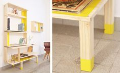 Do you have the TARVA commode of IKEA? Now you can build the ARTAV bookshelf of atelier All the different pieces of wood of the original piece of furniture can be re-used and you don't need to add or saw any other shelves Ikea Furniture, Repurposed Furniture, Furniture Design, Ikea Hacks, Ikea Chest Of Drawers, Ikea Dresser, Etagere Design, Diy Art Projects, Decoration