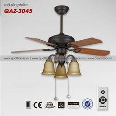 Quạt trần đèn trang trí cao cấp Mountain Air QAZ-3045