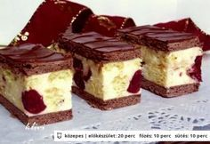Archívy Zákusky - Page 18 of 78 - Receptik. Hungarian Desserts, Hungarian Recipes, Cookie Recipes, Dessert Recipes, Delicious Desserts, Yummy Food, Croatian Recipes, Sweet And Salty, Creative Cakes