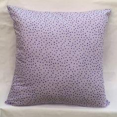 """Purple Glitter Dots Handmade Pillow Cover - 18""""x18"""" by ForeverLavenderDsign on Etsy https://www.etsy.com/listing/483773170/purple-glitter-dots-handmade-pillow"""