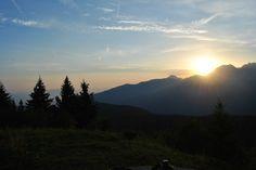 levé de soleil sur le massif de Belledonne