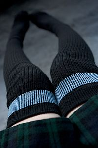 NZ Sock Lady Merino Thigh Highs - 80% merino, and they come in four sizes, so even men with 14.5+ feet can have warm thigh high socks! UPDATE: we regret to inform you that this style has been discontinued and is no longer available.