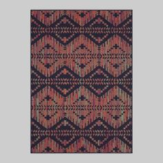 X Color Mix Stripe Outdoor Rug - Opalhouse™ : Target Modern Bohemian, Bohemian Decor, Interlocking Deck Tiles, Outdoor Area Rugs, Outdoor Decor, Galvanized Sheet, Global Decor, Rug Material, Muted Colors