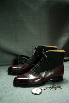 The 601 Balmoral Boot by Saint Crispin's