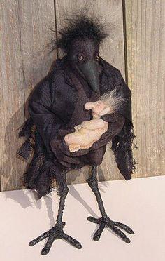 Crow Mother by Ute Vasina.                                       LOVE IT!