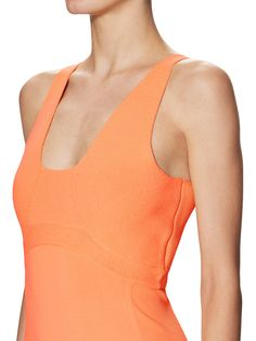 Crepe Scoopneck Sheath Dress from Narciso Rodriguez on Gilt