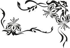 Home affaire Wandtattoo schwarz, »Blütenornament« Jetzt bestellen unter: https://moebel.ladendirekt.de/dekoration/wandtattoos/wandtattoos/?uid=b6ea23d5-85c8-5321-aeb4-3dc503fab73f&utm_source=pinterest&utm_medium=pin&utm_campaign=boards #tattoos #dekoration