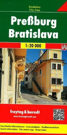 Bratislava, Slovakia by Freytag-Berndt und Artaria