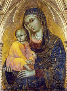 Barnaba da Modena, Madonna mit Kind (Madonna with Child) #TuscanyAgriturismoGiratola