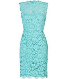DESIGNER:  VALENTINO SEE DETAILS HERE: Lace Overlay Sheath Dress