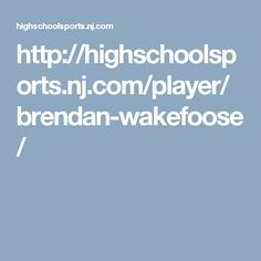 Connor Cortese is one of the inspirable athlete.... http://highschoolsports.nj.com/player/connor-cortese/