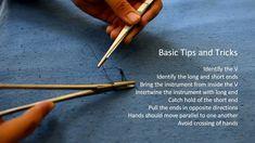 Basic Knotting and Suturing Using a Needle Holder