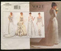 Vogue Bridal Original Wedding/Evening Gown w Princess by wrapsETC