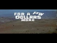 https://www.youtube.com/watch?v=O9vZJMVYHf0 For a Few Dollars More (1965) title sequence - YouTube / TITLE DESIGNER- Iginio Lardani/STYLES- 1960s, animation, cel animation, experimental, graphic, hand drawn, illustration, MOVIEmain title, situational type, typographic