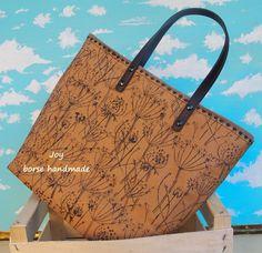 Paper Kraft Fabric Bag di Joycreazioni su Etsy