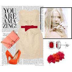 Dressing up a Damsel, created by angarajewelry on Polyvore