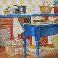 """""""Blaue Küche"""" von Emo"""