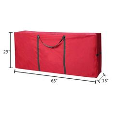 Labellevie Heavy Duty Christmas Tree Storage Bag Fit Upto 9 Foot Artificial Tree Red Extra Large Dimensions 65 x 30 x 15 ** You can get additional details at the image link. (Note:Amazon affiliate link) #christmastreestoragebag
