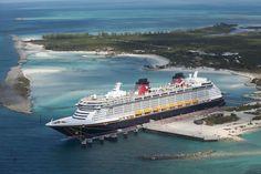 Disney cruise on Disneys castaway cay Bahamas