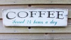 This Primitive rustic coffee sign, is painted and distressed, and would look beautiful in your primitive rustic kitchen. The sign is made of wood, and has a coat of polycrylic for protection. Diy Rustic Decor, Wood Home Decor, Rustic Signs, Home Decor Kitchen, Cheap Home Decor, Decorating Kitchen, Kitchen Artwork, Home Decoration, Diy Kitchen