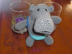 angel-eye's haakseltjes: Nijlpaard gehaakt