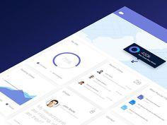 Salesforce Service Console by Thanh Quach #Design Popular #Dribbble #shots