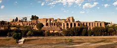 Roma - Veduta del Palatino e del Circo Massimo
