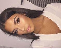 Gorgeous Makeup: Tips and Tricks With Eye Makeup and Eyeshadow – Makeup Design Ideas Kiss Makeup, Prom Makeup, Wedding Makeup, Hair Makeup, Teen Makeup, Eyeliner Makeup, Flawless Makeup, Gorgeous Makeup, Love Makeup