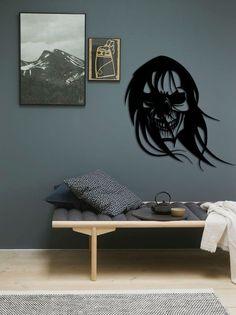 Long Hair Skull Metal Table by EvimIsterse on Etsy Metal Wall Art, Wood Art, Laser Cut Panels, 3d Cnc, Work From Home Moms, Black Metal, Metal Working, Skull, Calligraphy