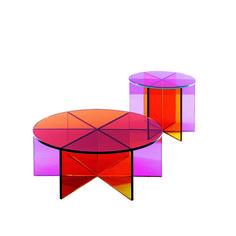 Shop SUITE NY for the XX and XXX tables designed by Johanna Grawunder for Glas Italia and more contemporary Italian furniture and colored glass occasional table
