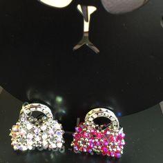 Find out more: https://www.etsy.com/shop/Beanworksonlinestore   100% handmade in Swarovski Crystal pendant / charm / keyring (3mm & 4mm crystals)  Product size: 2cm