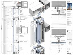 ISSUU - Nathaniel richards revit sample by Nathaniel Lloyd Richards: Detail Architecture, Revit Architecture, Architecture Drawings, Curtain Wall Detail, Glass Curtain Wall, Construction Documents, Construction Drawings, Facade Engineering, Building Skin