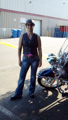 Favorite Summer Wear - anything that allows me to ride on the motorcycle with my hubby