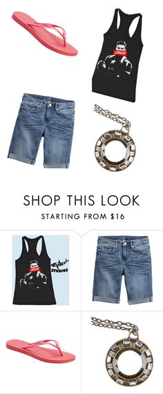 """Avenging Woman"" by princess-accitia on Polyvore featuring Havaianas and Reactor"