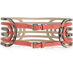 Roberto Cavalli Gladiator leather waist belt