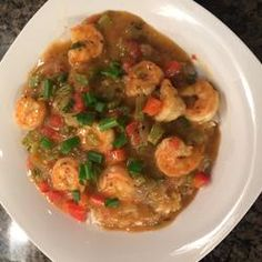 Chef John's Shrimp Etouffee l www.CarolinaDesigns.com