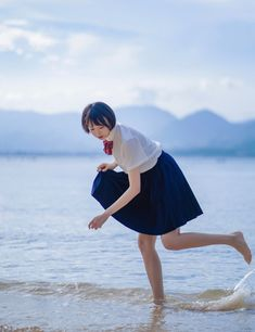 lo-fi beats, hi-fi girls a. Japanese School Uniform, Beats, Ballet Skirt, Girls, Calm, Fashion, Toddler Girls, Moda, Tutu